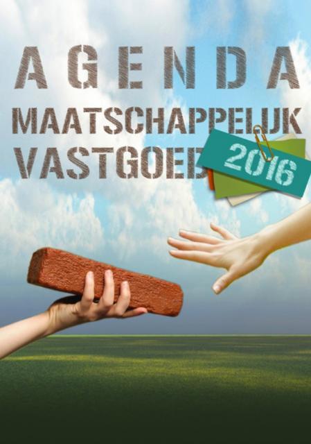 Agenda Maatschappelijk Vastgoed 2016