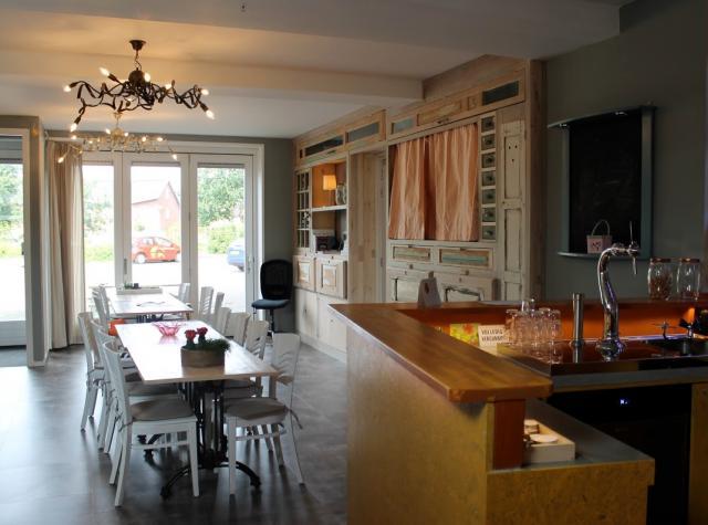 Doe-het-zelf-café De Rooie Cent in Amersfoort, werkplek van Bouwstenen