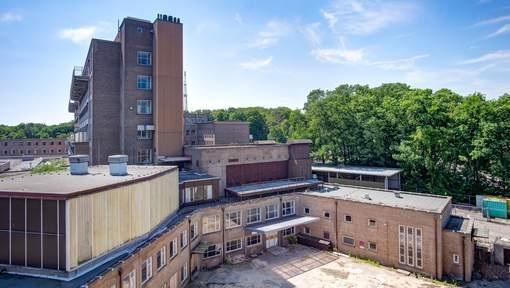 Leegstaand ziekenhuis in Amersfoort; de Lichtenberg